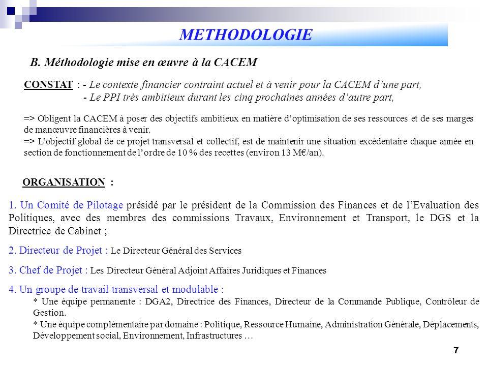 8 METHODOLOGIE B.