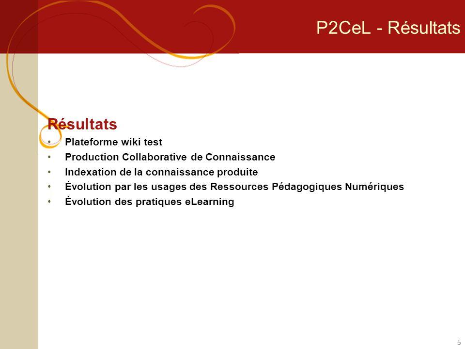 P2CeL - Un partenariat pluridisciplinaire Nancy Université TICE – NUTICE LORIA – équipes KIWI et ECOO THERMOPTIM Université Nancy 2 – CEREFIGE Université Paul Verlaine de Metz - ETIC, département de psychologie 6