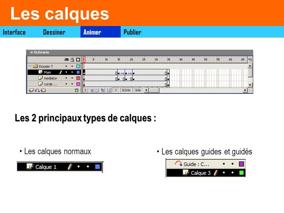 Dessiner sur plusieurs calques InterfaceAnimerDessinerPublier Sélectionner longlet calque dans la fenêtre scénario pour ajouter des calques.