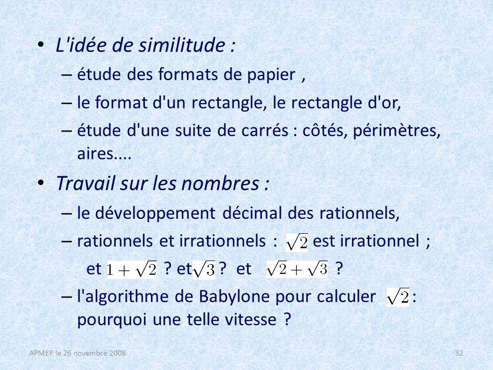 Simulations : – On lance 2 dés, 3 dés : on s intéresse à la somme, au minimum, au maximum des nombres obtenus.