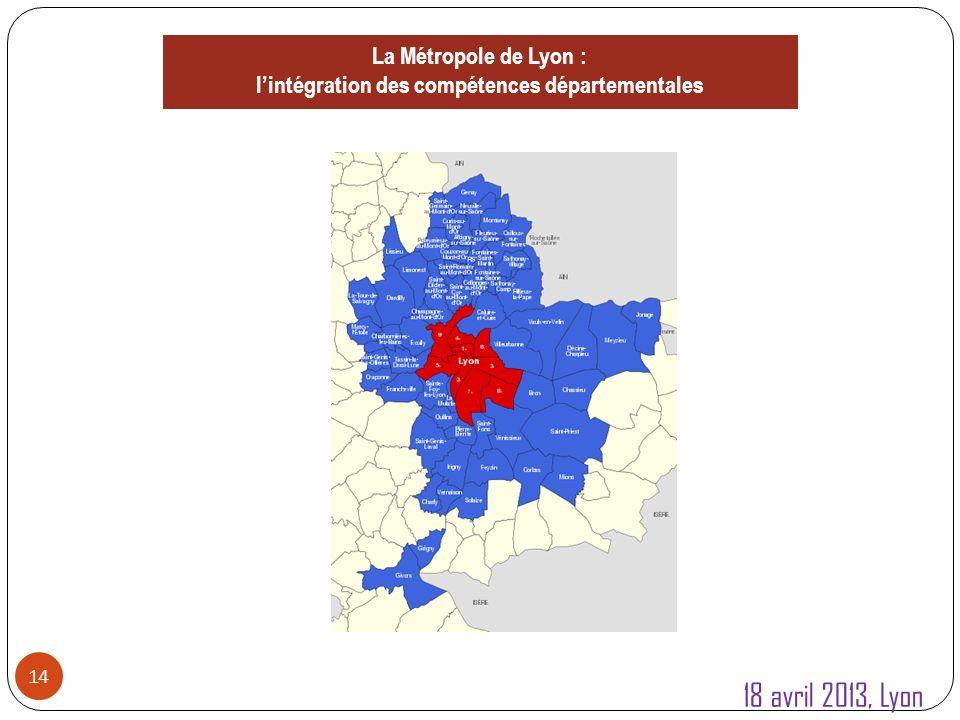 2.Affirmer les métropoles 15 1.