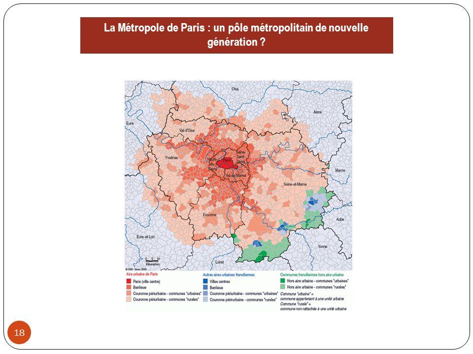 2.Affirmer les métropoles 19 1.