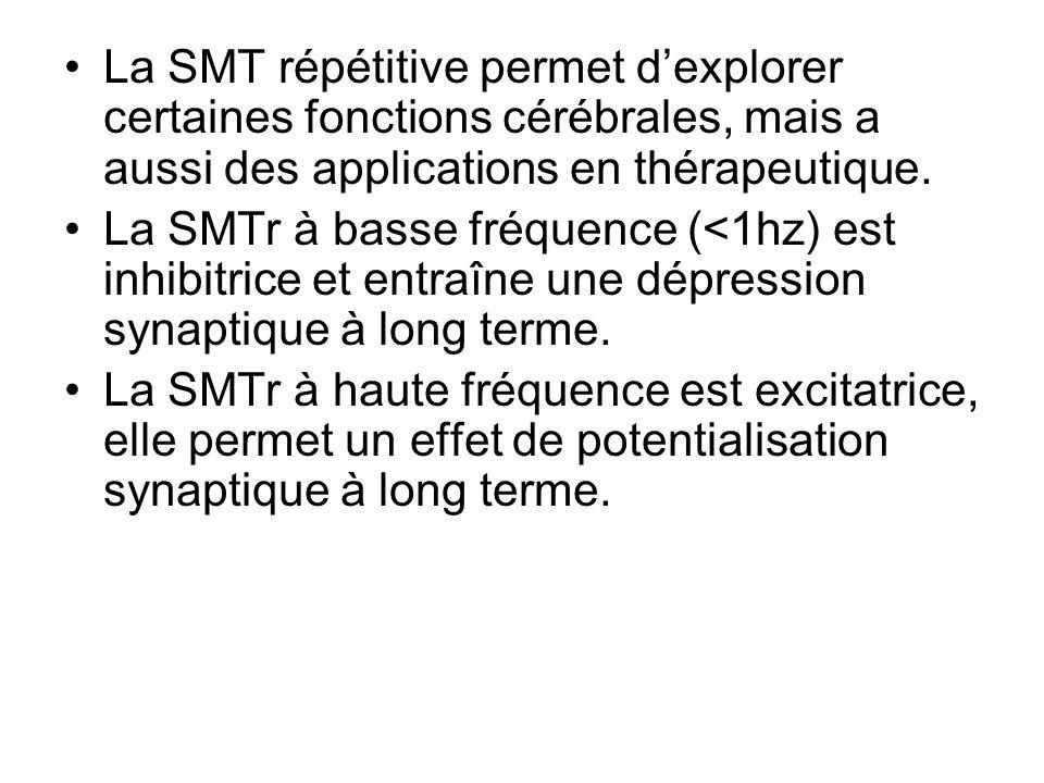La Stimulation Magnétique Transcrânienne : Applications aux pathologies neurologiques