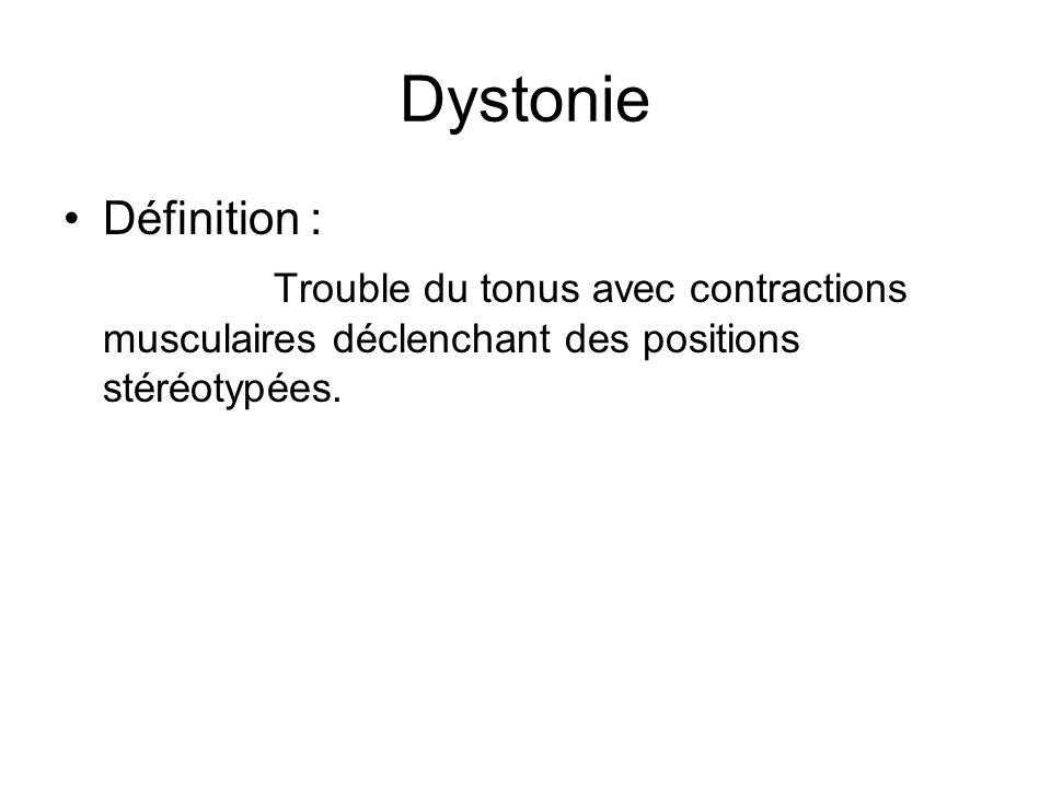 Dystonie