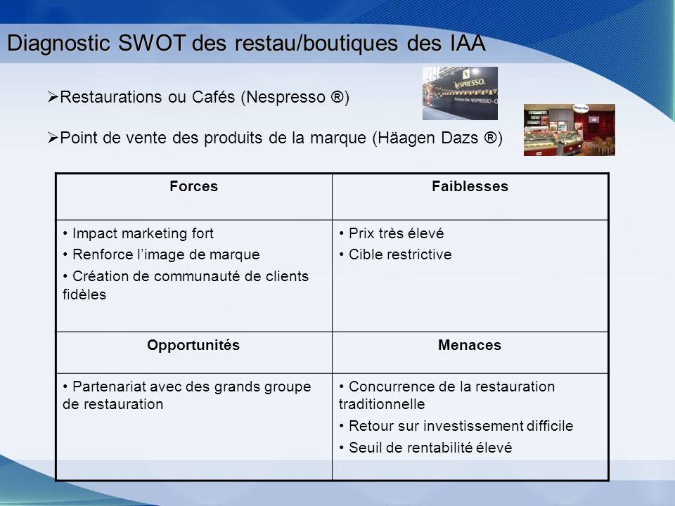 Exemple de distribution alternatif: Les stations-service Station dautoroute Total
