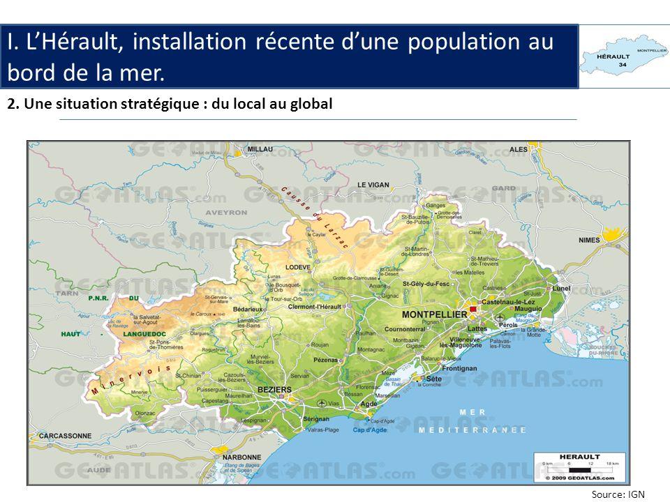 I.LHérault, linstallation récente dune population au bord de la mer 3.
