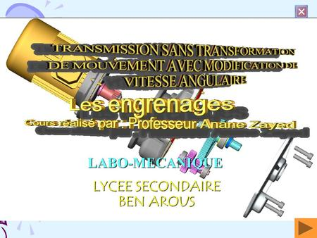 cours engrenages