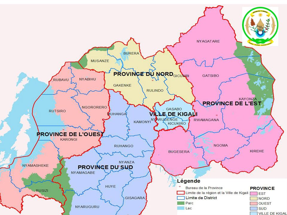 SYSTÈME DE SANTE DU RWANDA 5 NIVEAUX 59th Session of the RC for Africa MOH:4 HRF, OAI 30 DISTRICTS: 40 HD, 30 PD, 30 CDLS, 30 MUTUELLES 416 SECTORS : 420 Health centers 15000 AGGLOMERATIONS: 4 Community health workers 2148 CELLS: Health community post