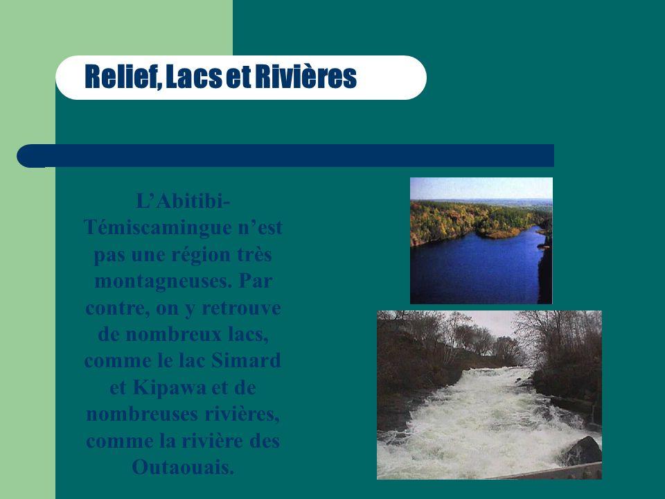 Activités et Attraits Les attraits et les activités dune région sont liés à ces caractéristiques.