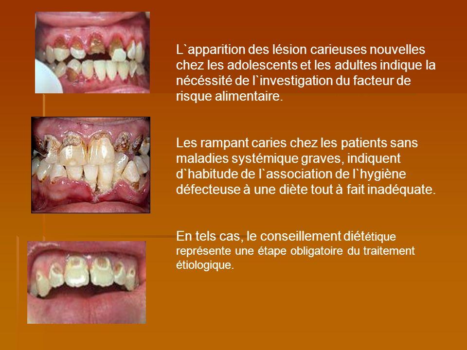 La prévention ou l` écartement de la plaque bactérienne.