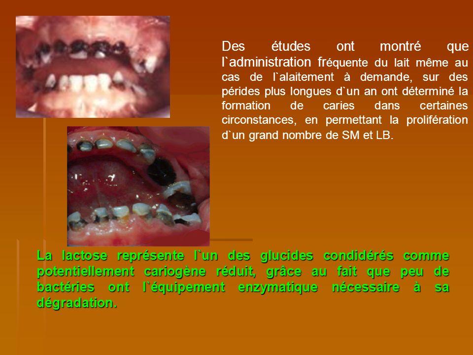 L` amidone cru est faiblement ferment é par l`amylase salivaire, puisqu`il est protégé par une membrane cellulosique, qui se dégranule par bouillement et des dextrines qui peuvent être utilisée par les bactéries cariogènes.
