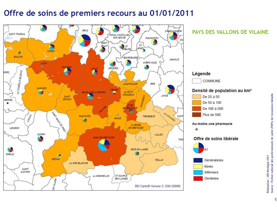 7 Offre de soins sur le Pays des Vallons de Vilaine