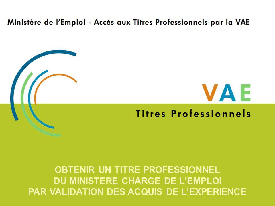 Menu principal La VAE, cest… Un acte officiel par lequel les compétences acquises au travail sont vérifiées et validées par un jury, et ainsi reconnues.