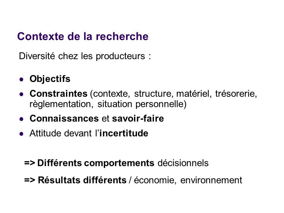 Objectif : comportements décisionnels comme objet détude Pourquoi est-ce important .