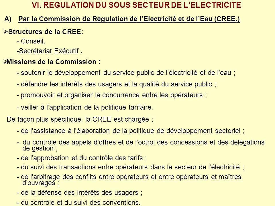 7.1 Période 1998 à 2000 antérieure à la privatisation de la société : i) électricité: 30% daugmentation; ii) eau potable: 60 % daugmentation 7.2 Période de la privatisation de EDM-SA de 2000 à 2005 : Lapplication des formules dindexation des tarifs convenue entre les parties dans les contrats de concession de lélectricité et de leau potable a abouti à, en : Décembre 2000: une augmentation de 26,5% de lélectricité et 15,7% pour leau applicable à partir du 1 er juillet 2001.