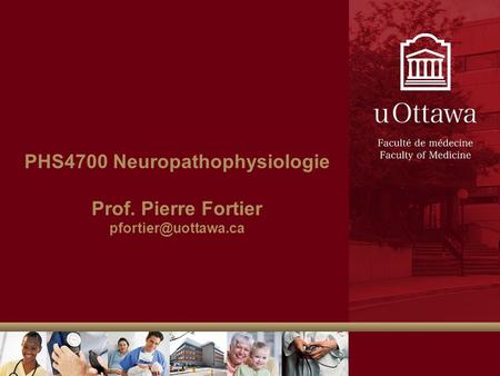 PHS4700 Neuropathophysiologie