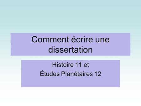 respect corps humain dissertation