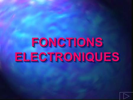FONCTIONS ELECTRONIQUES. Conversion tension - courant u e (t)i(t) U I i(t) = k.u(t)