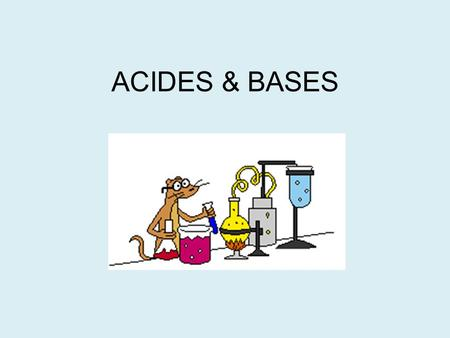 ACIDES & BASES Hcl and aluminium bomb Add bung rather than screw top?
