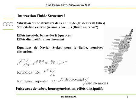 Interaction Fluide Structure?