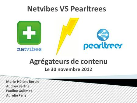 Netvibes VS Pearltrees