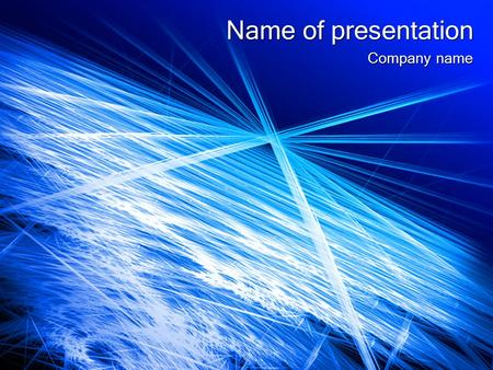 Name of presentation Company name.