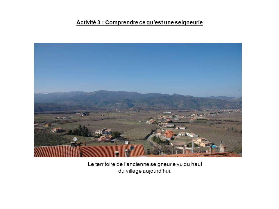 Activité 3 : Comprendre ce quest une seigneurie Limites des régions et des communes daprès lAtlas de Catalunya nord de J.
