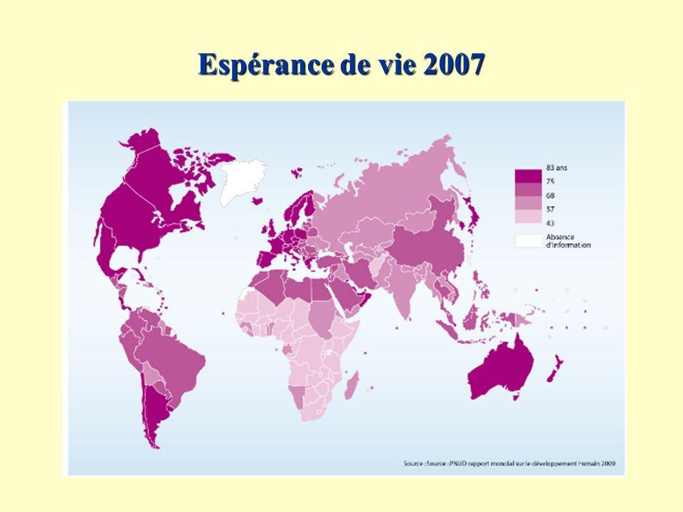 Disponibilité en eau douce par État (2007)