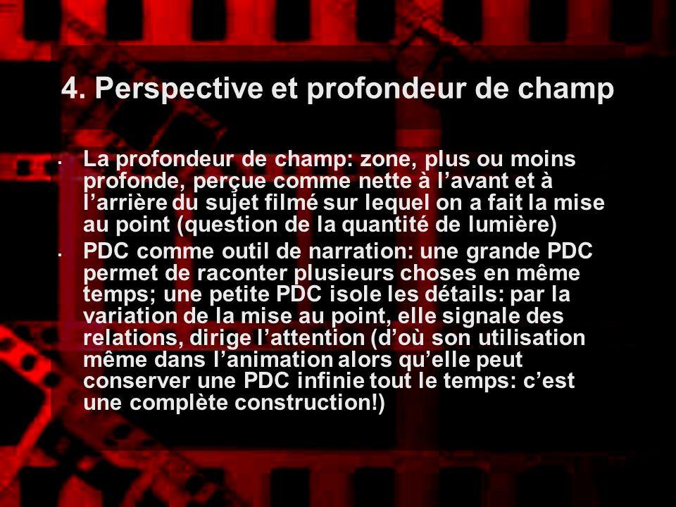 4. Perspective et profondeur de champ: petite PDC et changement de point, Desperado