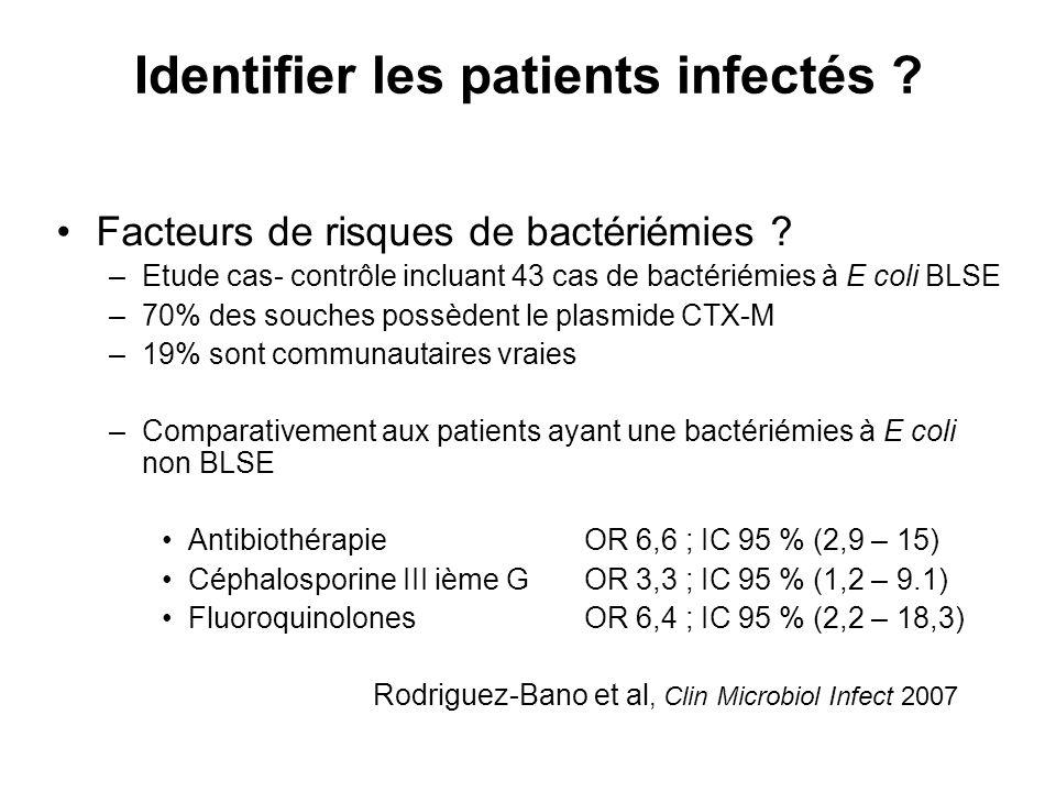Identifier les patients infectés .