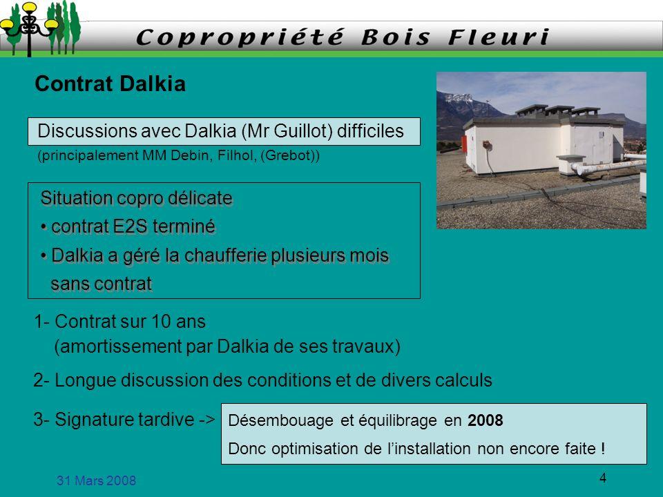 31 Mars 2008 5 Dalkia marque son territoire