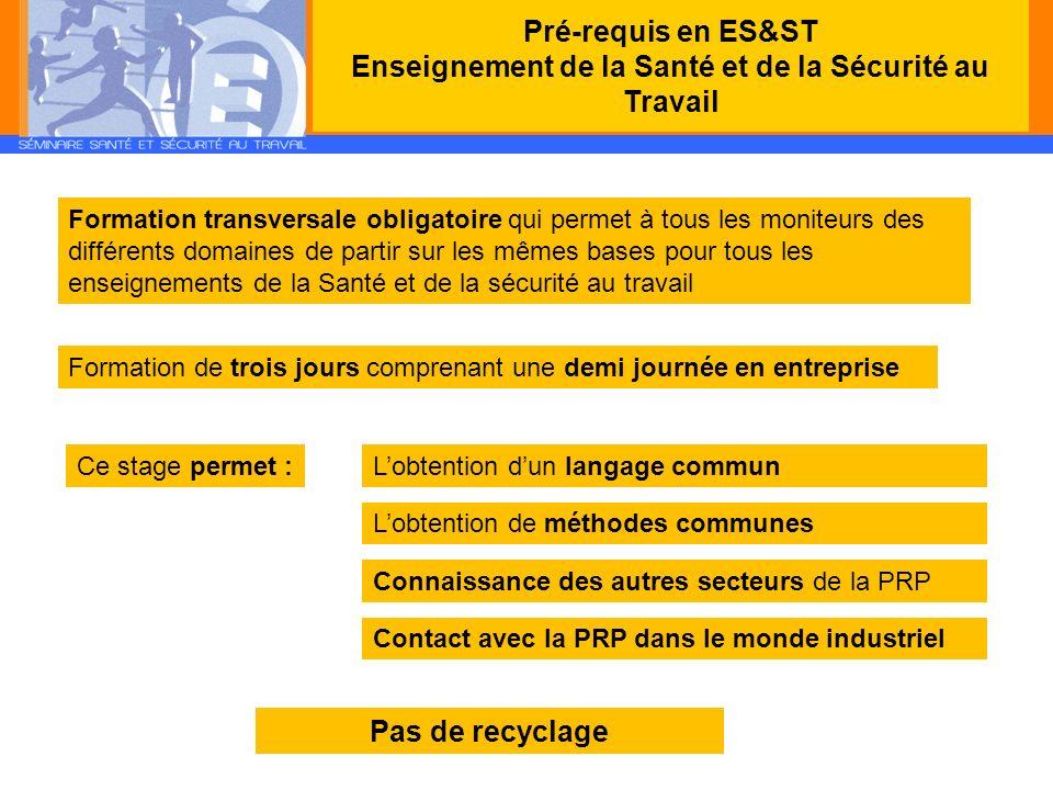 Monitorat SSTMonitorat PRAP IBCMonitorat PRAP 2S public durée validation validité certificat recyclage monitorat - enseignants - personnel infirmier - enseignants STI, Biotechnologies, EPS - personnel infirmier - enseignants STMS 48 h30 h24 h 2 étapes : 1.