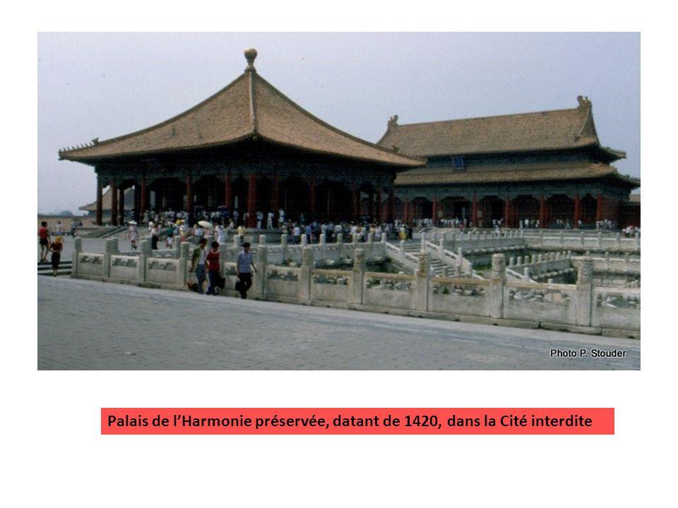 Palais de lHarmonie Suprême, dans la Cité interdite