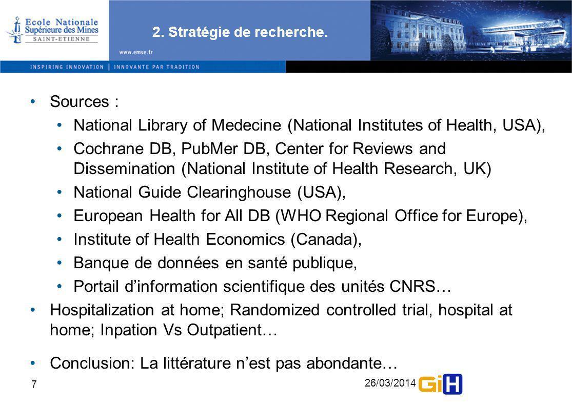 26/03/2014 8 3.Impact biomédical et sécurité Goulet et al.