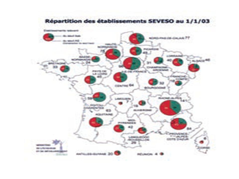Se renseigner sur les installations classées http://installationsclassees.ecologie.gouv.fr/accueil.php Rechercher une installation classée soumise à autorisation Date de la dernière mise à jour de la base de données : 12/04/2010 Région : Nord-pas-de-calais Département : Commune : Douai Nom de l établissement : Activité principale : Installations classées : Priorité nationale : Régime Seveso(1) : IPPC(2) : Déclaration annuelle émissions : (1) Régime Seveso AS : Autorisation avec servitudes SB : Seveso seuil bas (2) IPPC : Intergrated Prevention and Pollution Control (directive n°96/61/CE du 24/09/1996)