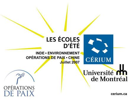 Cerium.ca. État failli et construction de lÉtat: le state-building comme enjeu de sécurité internationale Marie-Joëlle Zahar Science politique, Université.