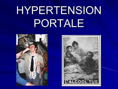HYPERTENSION PORTALE.