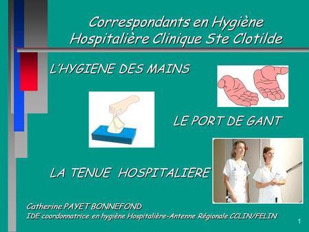 Pr cautions standard selon un texte r glementaire ppt - Hospitalisation en chambre individuelle ...