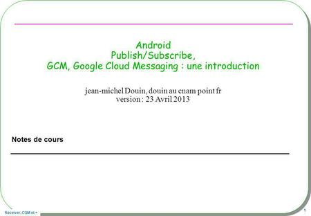 jean-michel Douin, douin au cnam point fr