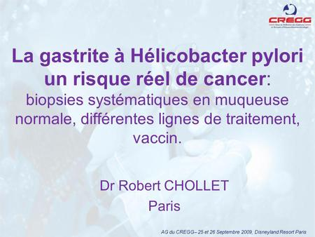 Dr Robert CHOLLET Paris