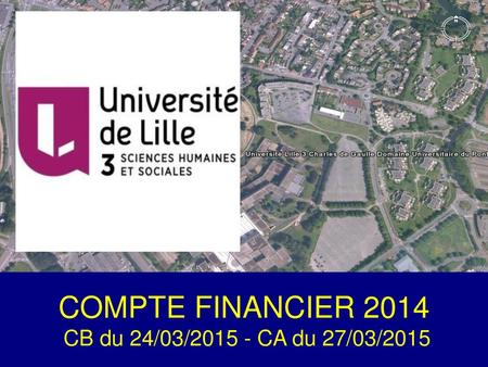 COMPTE FINANCIER 2014 COMPTE FINANCIER 2006