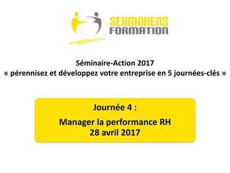 Manager la performance RH 28 avril 2017