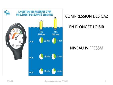 Compression des gaz_FFESSM