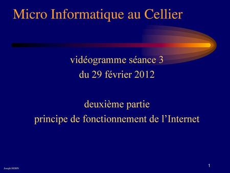 Micro Informatique au Cellier