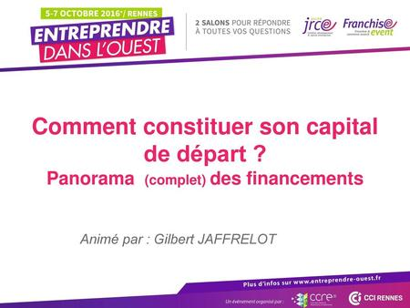 Comment constituer son capital de départ ?