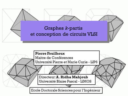 et conception de circuits VLSI