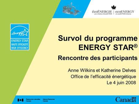 rencontre de la performance énergétique 2011