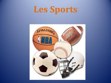 Les Sports. le basketball le base-ball le cyclisme.