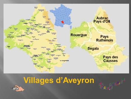Villages d'Aveyron.