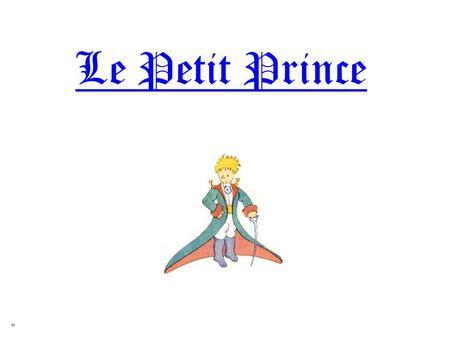 Mon cahier de fran  ais  Le petit Prince